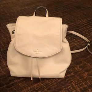 Katie Spade Leather Backpack/Purse